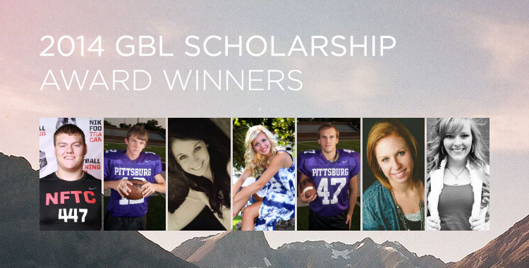 2014 GBL Scholarship Award Winners